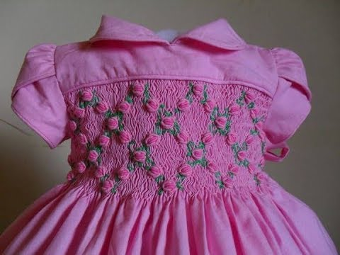 Hand Embroidery Designs For Baby Frocks