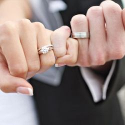 Image result for wedding rings on hands